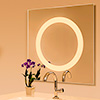 Alice Mirror LED - Dimmable,<br />3000K and 3000D Warm Dim and Static White at 3000K - Click to Enlarge