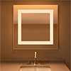 Plaza Small Tunable White Mirror<br />Tunable White LED, with Power Supply, 2000K - Click to Enlarge