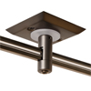 "Monorail 2"" Square Single Feed Power<br>Canopy (Antique Bronze) - Click to Enlarge"