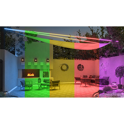 "Saber Suspension, 0.8"" Round Outdoor Wet Location 24VDC Outdoor 5W 