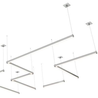 Cirrus Suspension Downlight Modular With Remote Power