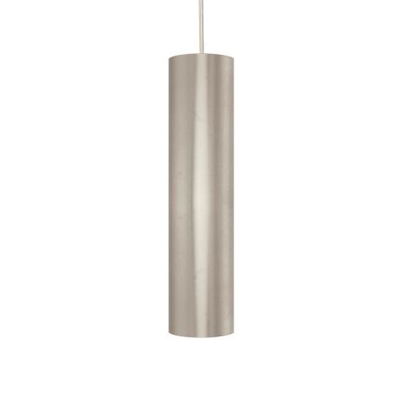 Scope LED Pendant In Satin Nickel