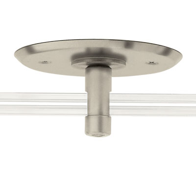 "Monorail 4"" Round Single<br> Power Feed Canopy"