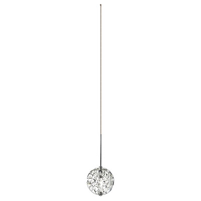 Vanishing Point 12VDC System Monopoint Pendant & Suspension,<br />Fast Jack 0.15