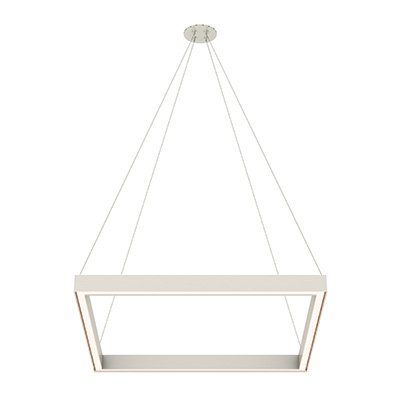 Nova Large MIYO Square LED Suspension Down Light With Power
