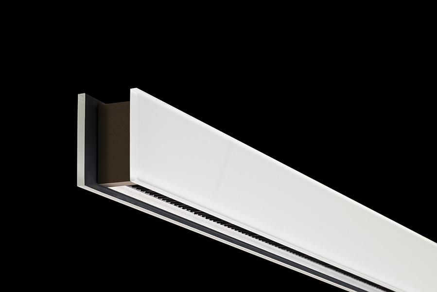 Pureedge Lighting Glide Glass Up Down Center Feed