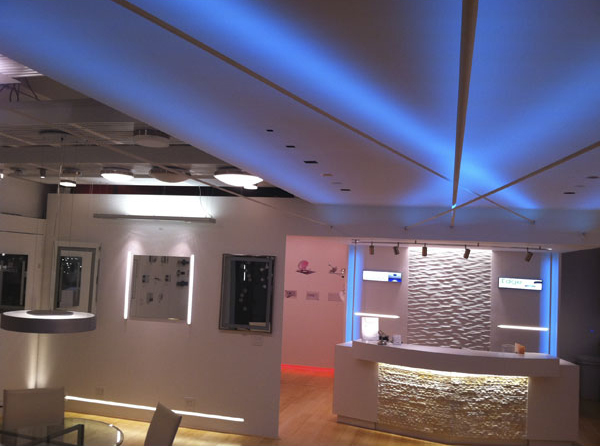 Edge Lighting Soft Line Led System For Indirect Lighting Indoor