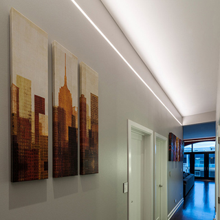 Pureedge Lighting Products Recessed Recessed Perimeter Cove Pathway