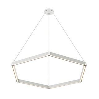 Nova Up Down MIYO br    Make It Your Own  br   Hexagon LED Suspension br    span class  with power green  with Power  span