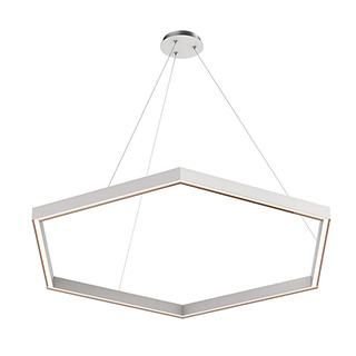 Nova Large MIYO br    Make It Your Own  br   Hexagon LED Suspension br   Downlight