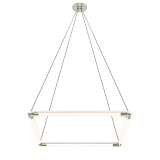 Pipeline 1 MIYO br    Make It Your Own  br   Square Warm Dim LED Suspension