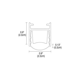 Cirrus Channel Wall Grazer