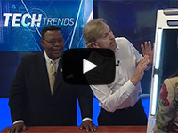 NBC's Tech Trends<br />Gregory Kay, CEO demonstrates<br />Tunable White Technology