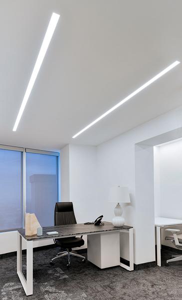 Pureedge Lighting Truline 1 6a 24vdc Plaster In Led System